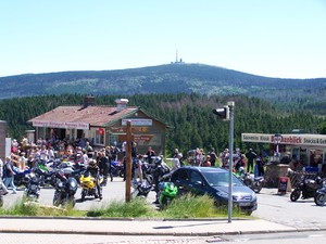 view from Torfhaus to the Brocken
